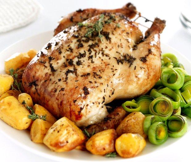 Pečené kuře s citronem a tymiánem  Foto: