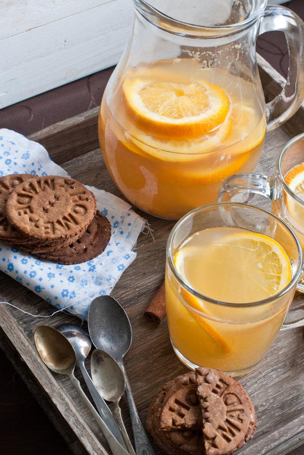 Zázvorové sušenky a kořeněný jablečný mošt 2 Foto: