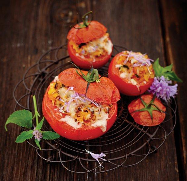 Pečená plněná rajčata  Foto: