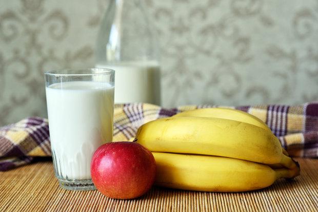 bílkoviny a ovoce Foto: