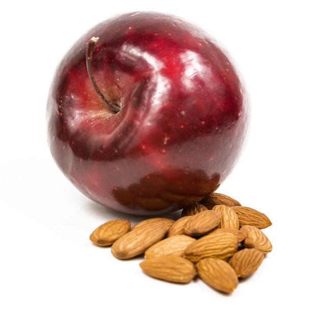 jablka a mandle Foto: