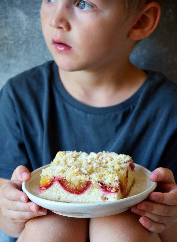 Kynutý švestkový koláč  Foto:
