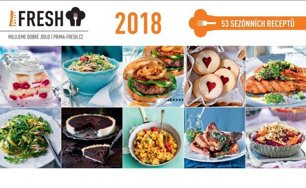Stolní kalendář Prima FRESH 2018 Foto: