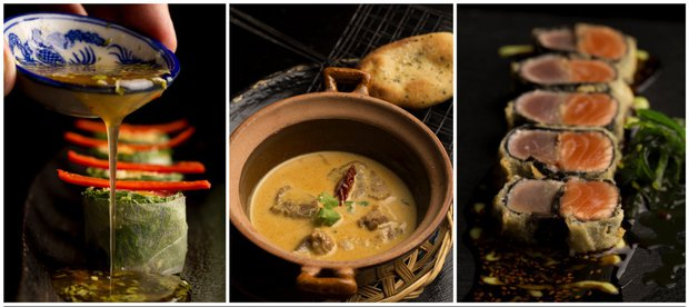 Výběr z menu restaurace Sasazu  Foto: