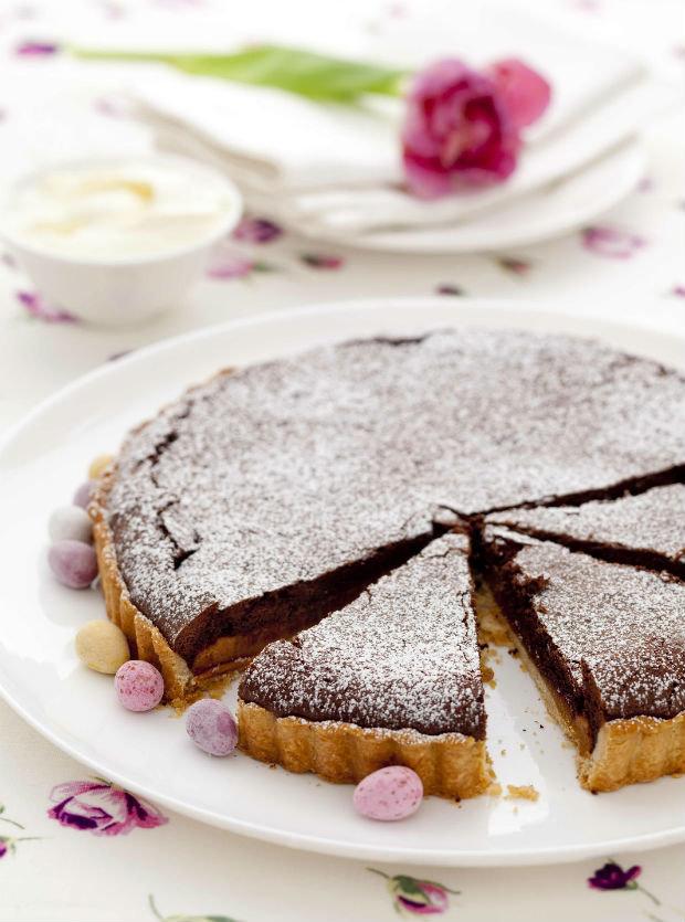 Čokoládovo-karamelový dort Foto: isifa.com