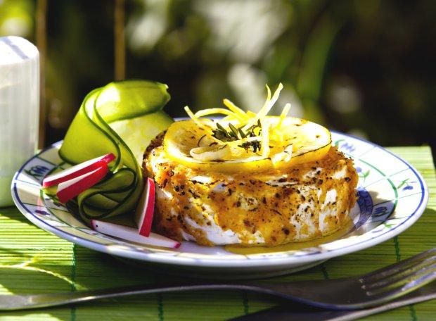 Grilovaný Hermelín s citrony a česnekem  Foto: