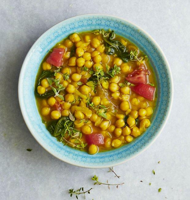 Cizrnová polévka s šafránem Foto: