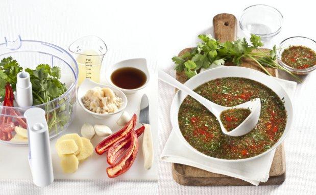 Čerstvá chilli omáčka Foto: