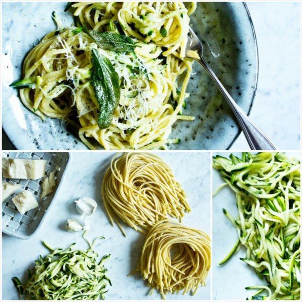Špagety s cuketou z jedné pánve Foto: