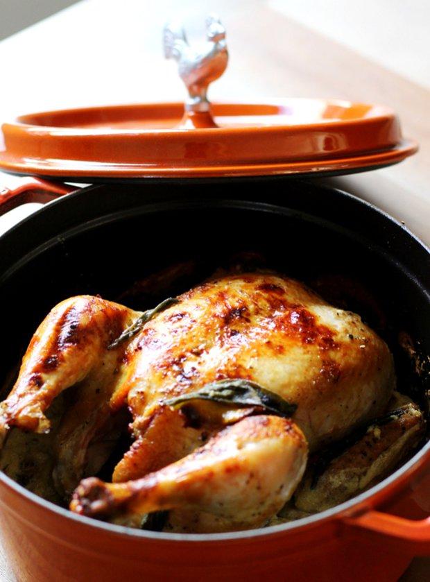 Kuře pečené v mléce 4 Foto: