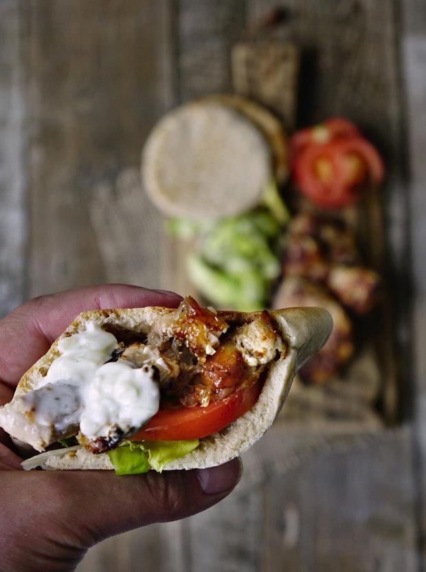 Kuřecí shawarma 2 Foto: