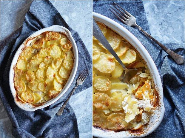 Šlehačkové brambory s dýní a kuřetem 2 Foto:
