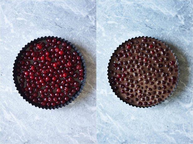 Kakaový clafoutis s višněmi Foto: