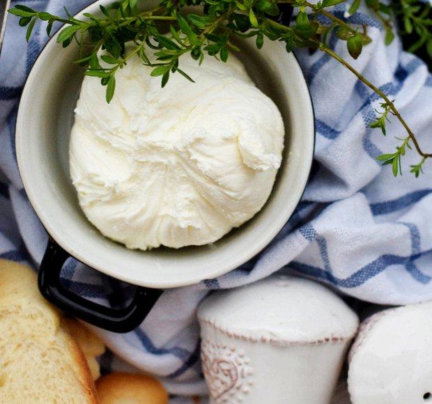 Domácí čerstvý sýr  Foto: