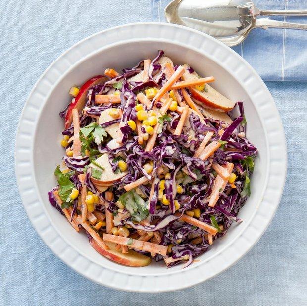 Zeleninový salát s curry pastou Foto:
