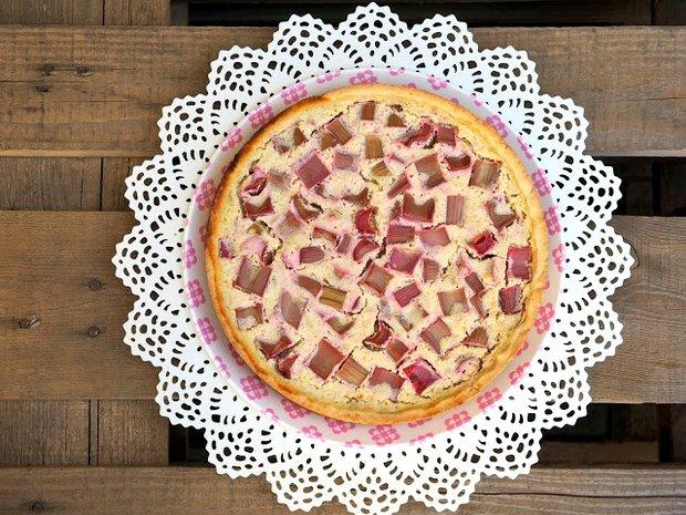 Rebarborový koláč s ricottou  Foto:
