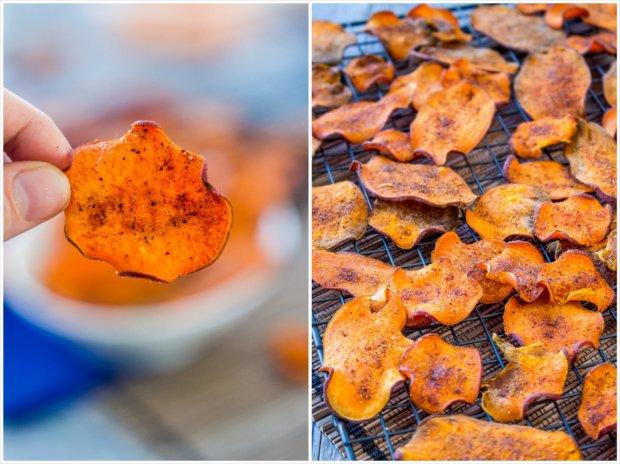 Křupavé batátové chipsy 3 Foto: