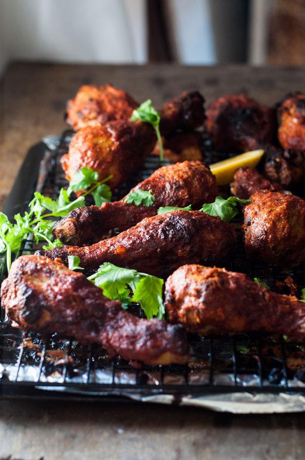 Tandoori kuře pečené v troubě 2 Foto: