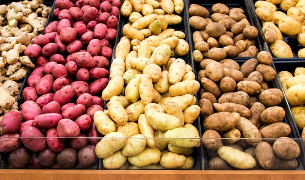 Varné typy brambor  Foto: