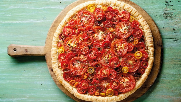 Rajčatový koláč Foto:
