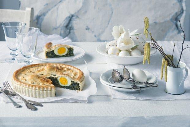 Italský koláč se špenátem  Foto: