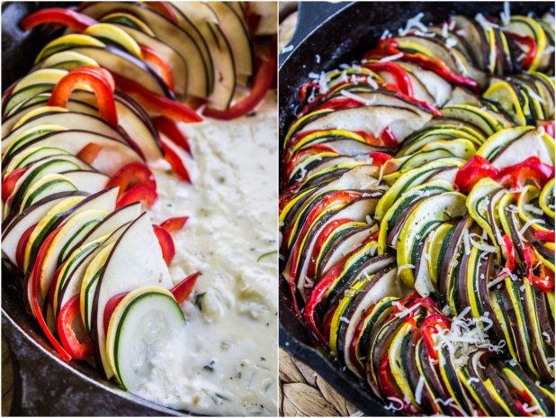 Zapečené ratatouille s česnekem 2 Foto: