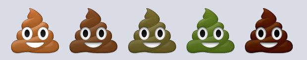 poop-emojis-colors Foto: