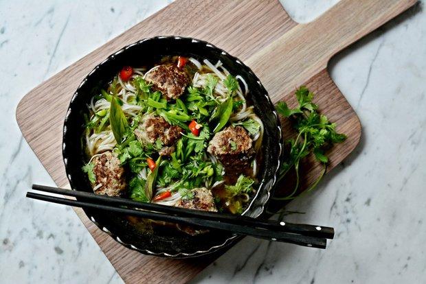 Asijská knedlíčková polévka 2 Foto:
