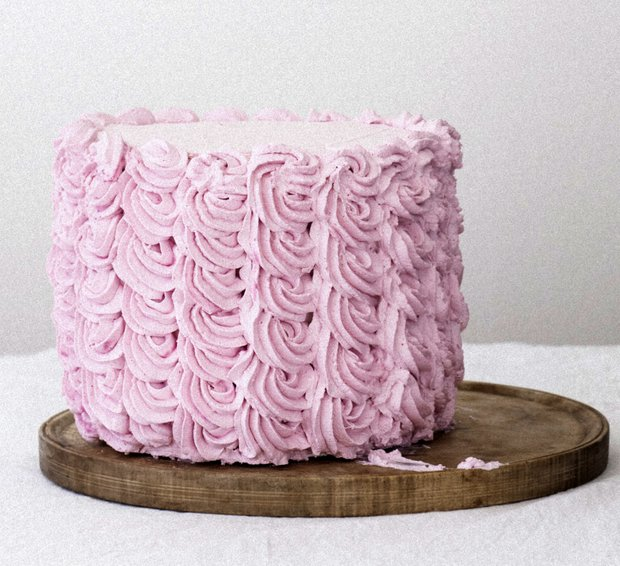 Malinový krémový dort  Foto: