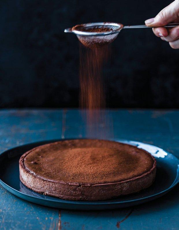 Horký čokoládový dort  Foto: