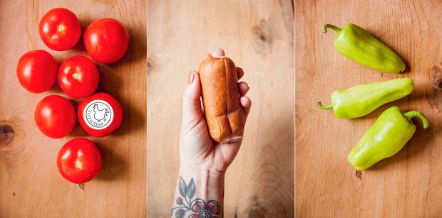 Zeleninové lečo s buřtem 2 Foto: