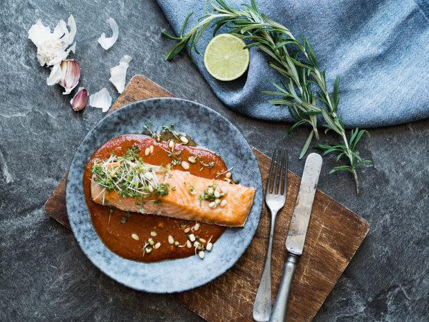 Losos s chilli česnekovou omáčkou 2 Foto: