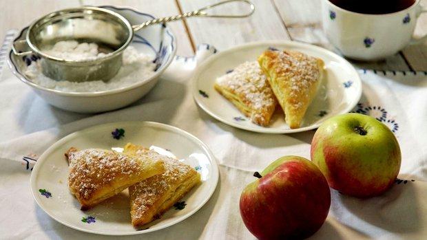 Tvarohové šátečky s jablky 2 Foto: