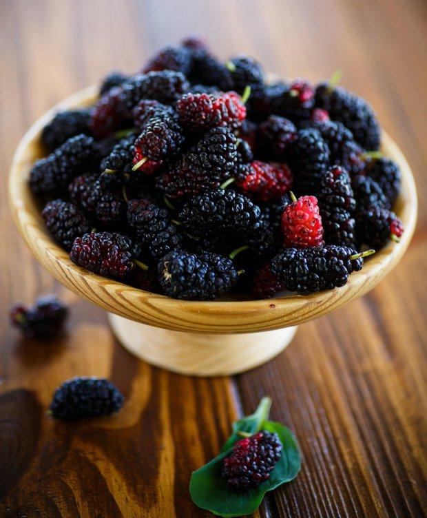 Netradiční letní ovoce - moruše Foto: