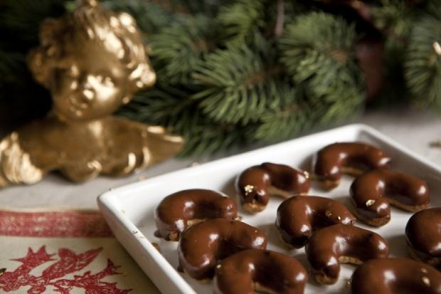 Čokoládové rohlíčky babičky Jiřinky  Foto: Kitchenette.cz