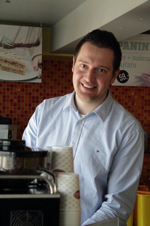 LubosMartinek_Sefbarista_CrossCafe Foto: CrossCafe