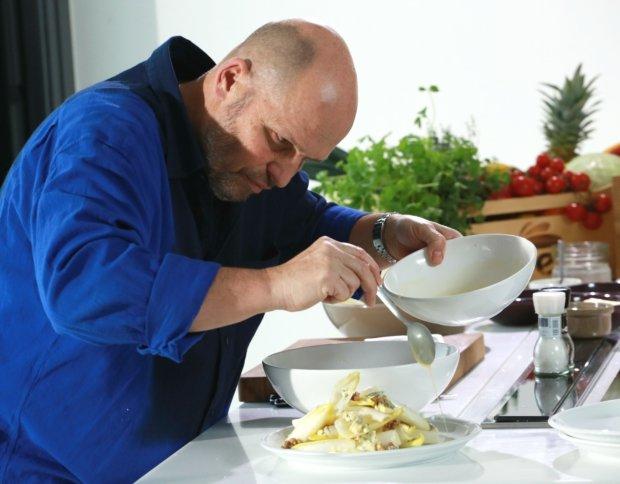Čekankový salát s modrým sýrem Foto: