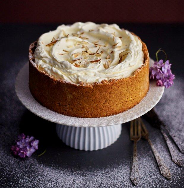 Výtečný mandlový dort  Foto:
