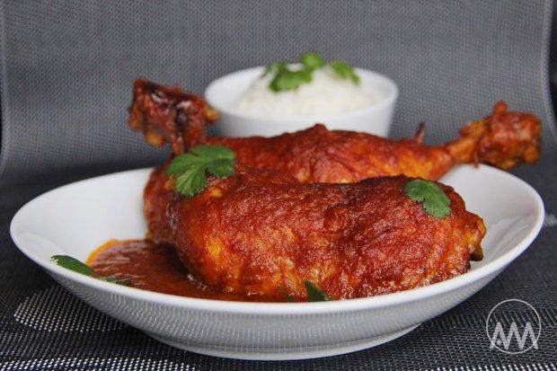 Kuře v cibulové curry marinádě 2 Foto: