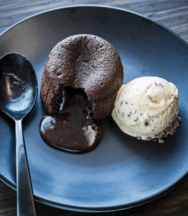 Dokonalý čokoládový fondán  Foto: