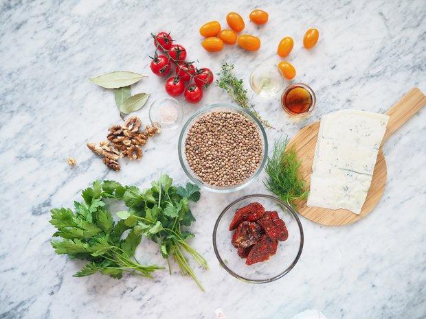 Čočkový salát s gorgonzolou 2 Foto:
