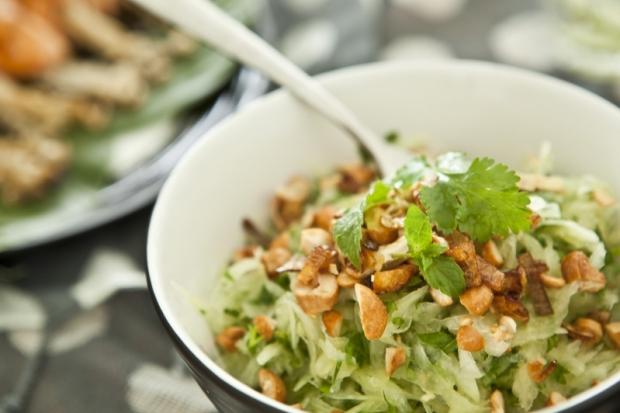 Papájovo-mangový thajský salát  Foto: Kitchenette.cz