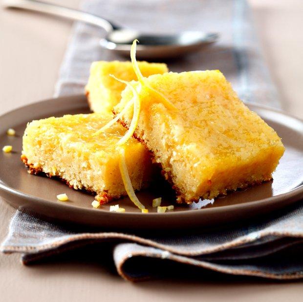 Citronové řezy s polevou  Foto: