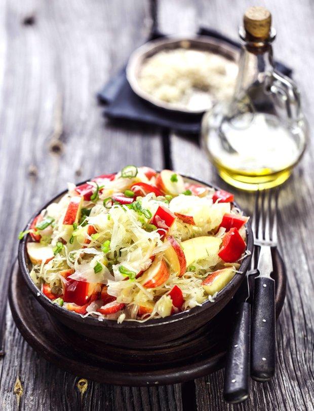 Salát z kyselého zelí  Foto: