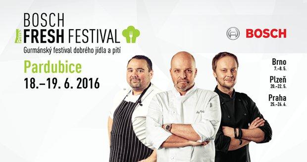 Bosch Fresh Festival Pardubice Foto: