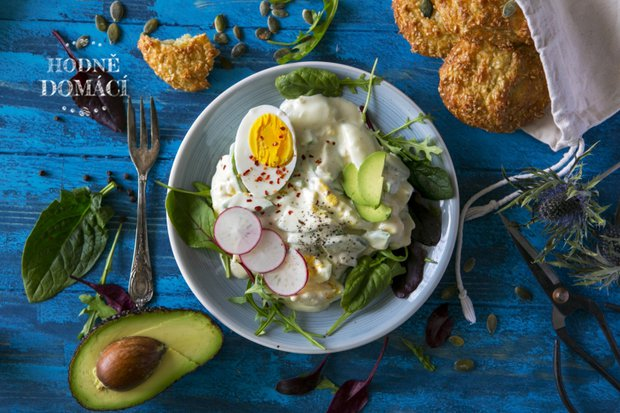 Avokádovo-vajíčkový salát 2 Foto: