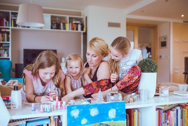 Kristina Hummelová s dcerami Foto:
