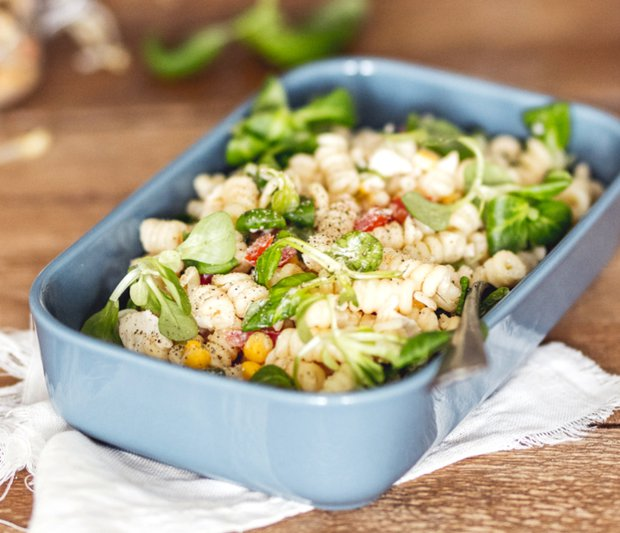 Rychlý těstovinový salát  Foto: