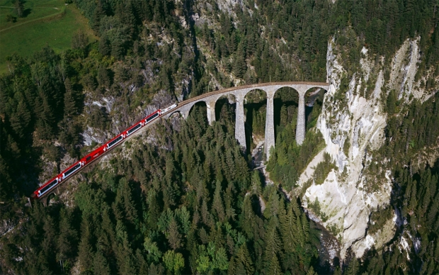 Vlaky: Švýcarsko