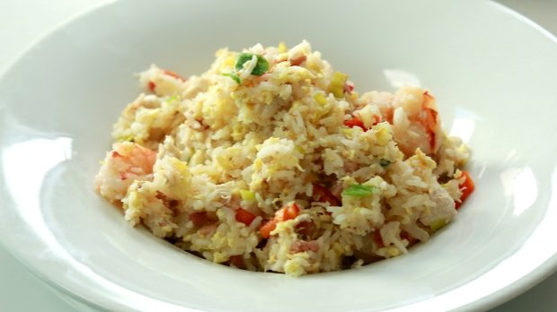 Smažená rýže Nasi Goreng Foto: